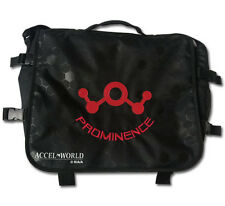 **Legit Bag** Accel World Red Legion Prominence Logo Messenger Backpack #11771