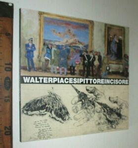 WALTER PIACESI PITTORE INCISORE 2009 ARTE COMUNE DI FOSSOMBRONE PESARO sc70