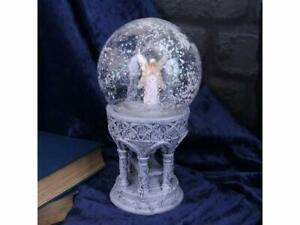 Nemesis Now Only Love Remains Gothic Fairy Snowglobe Figurine Anne Stokes 18.5CM
