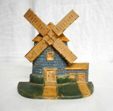 Antique Cast Iron Windmill National Foundry Design #10