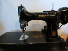 Singer Featherweight 221 Sewing Machine w/ Case Vintage Rare Beautiful - A15
