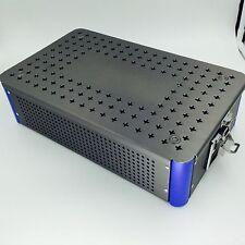 New Aluminium Alloy sterilization tray box case extra big surgical instrument