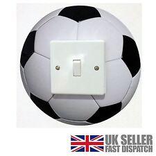 Football Light Switch Surround Sticker Cover Vinyl Childrens Wall Skin Kids