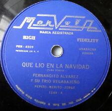 FERNANDITO ALVAREZ latin 78 Que Lio En La Navidad