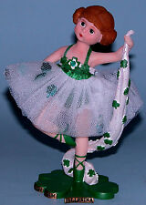 "Madame Alexander resin doll figurine ""Irish Dream Ballerina #91410 ballet dancer"