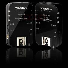 2pcs Yongnuo YN-622N Wireless TTL HSS 1/8000S Flash Trigger for Nikon Cameras