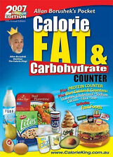 Calorie Fat and Carbohydrate Counter by Allan Borushek (Paperback, 2006)