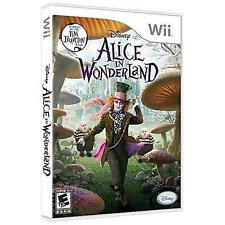 Disney Alice in Wonderland Nintendo Wii Or U Kids Video Game Only Cheap! 46