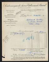 """SAINT-OUEN (93) TRAVAUX PUBLICS / MACONNERIE """"Anciens Ets. BRIARD"""" en 1951"""