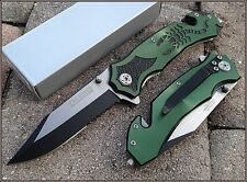"""TACFORCE SPRING ASSISTED SCORPION DESIGN KNIFE W/ BOOT/POCKET CLIP - 4.5"""" CLOSED"""