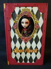 Ever After High Lizzie Hearts Spring Unsprung Book Playset with Doll