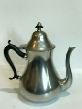 "Royal Holland Pewter Coffee Pot~Sleepy Hollow Restorations~Reproduction~9.5""High"