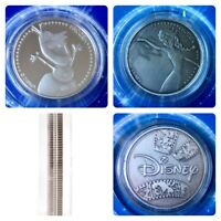 Frozen Disney Limited Edition 38mm Collectors Coins In Protective Capsules