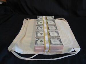 Prop Novelty Money Filler Packs 25 x $10K ($250K) Solid Blocks.Single Sided