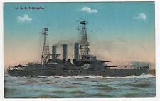 USS NEBRASKA PC Postcard BATTLESHIP BB-14 Navy NAVAL USN Military WAR Ship