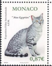 Monaco 2011 Egyptian Mau/Cats/Cat Show/Nature/Animals/Pets 1v (n45774)
