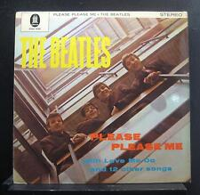 The Beatles Please Please Me LP VG+ ZTOX 5550 Germany Gold Odeon Vinyl 1964