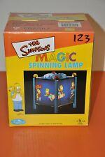 "The SIMPSONS ""MAGIC SPINNING LAMP""=BART SKATEBOARD DESIGN/1998=BRAND NEW!"