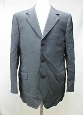 CANALI Men's Charcoal Grey Wool Single Breasted 3-Button Suit Jacket UK42R IT52