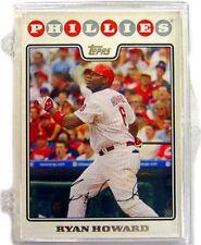 MLB 2008 Topps Baseball Cards Philadelphia Phillies Team Set Plastic Case