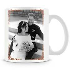 HRH Prince Harry & Ms Meghan Markle Wedding Day Black & White - Coffee Mug