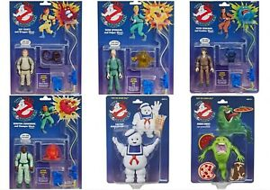 2020 Kenner The Real Ghostbusters Retro Action Figure Set of 6 Exclusive