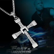 Kreuz Kette Fast and Furious 8 Vin Diesel Dominic Toretto Anhänger  NEU
