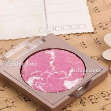 Pink Makeup Baked Blusher Blush Palette Face Powder Cheek Silky Soft Highlighter