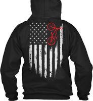Bmx Flag Gildan Hoodie Sweatshirt