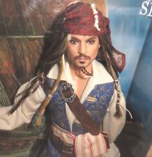 NRFB KEN ~PIRATES OF THE CARIBBEAN JACK SPARROW JOHNNY DEPP ARTICULATED DOLL MIB