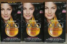 3 Pack Garnier Olia Dye Ammonia-Free Brilliant Hair Color Permanent 1.0 Black