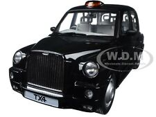 2007 TX4 LONDON TAXI CAB BLACK PLATINUM EDITION 1/18 MODEL CAR BY SUNSTAR 5251