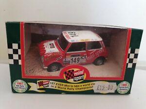 Corgi 1:36 Scale 04427 RAC Rally 1997 Mini Sport Diecast Model car