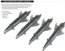 Eduard Brassin 672191 1/72 missiles RS-2US pour Mig-21 (4pcs) Eduard