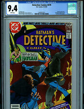 Detective Comics # 479 CGC 9.4 NM  Batman 1978 Comic Amricons K22