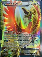 FULL ART Ho-Oh EX ULTRA RARE Legendary Pokemon 121/122 XY Breakpoint Hooh - LP