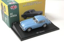 1:43 Atlas by NOREV AC ACECA Blue Classic Sport Cars New chez Premium-modelcars