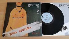 BBONA VENTURA - SESTO SENSO - LP 33 GIRI+LYRICS INNER SLEEVE - ITALY PRESS