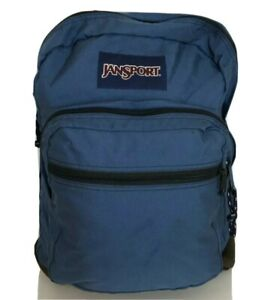 Jansport Blue Backpack vtg suede bottom