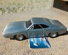 1:32 JADA TOYS *FAST & FURIOUS* Dom's BARE METAL 1970 Dodge Charger *NEW!*
