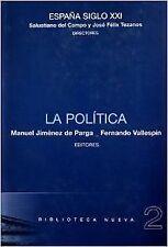 Politica, the. nuevo. nacional urgent/internac. económico. literatura