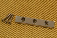 GB-LAP-N Gretsch Nickel Lap Steel Universal Low Profile Flat Mount Guitar Bridge