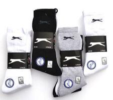 30 SLAZENGER Socken Strümpfe 46 47 48 49 50 schwarz weiß grau Sportsocken MIX