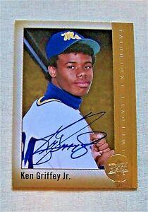 "KEN GRIFFEY JR, 2015 UPPER DECK ""EMPLOYEE EXCLUSIVE"" AUTO CARD, VERY RARE!"