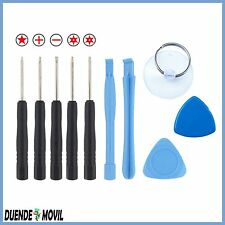 KIT HERRAMIENTAS PARA IPHONE SAMSUNG HUAWEI LG SONY XIAOMI TABLET MOVIL APERTURA