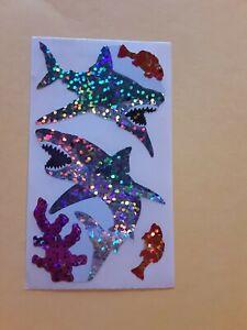 Hambly Studios prism sharks sticker module (free ship $20 min)