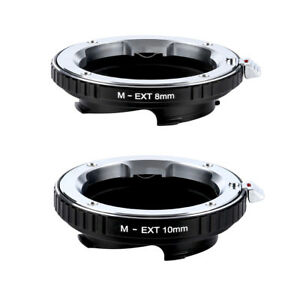 Adapter for Leica L/M ZM VM Lens to GXR L/M camera 8mm and 10mm by K&F Concept