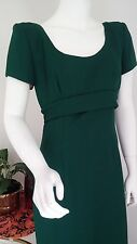 Vintage Emerald Green formal prom gown Alyce Designs size 8 10