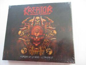 KREATOR - HORDES OF CHAOS ULTRA RIOT - 2CD BOXSET NEW SEALED 2010