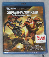 Superman/Shazam!: The Return of Black Adam - Blu-Ray - NEW & SEALED